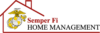 Semper Fi Home Management Logo